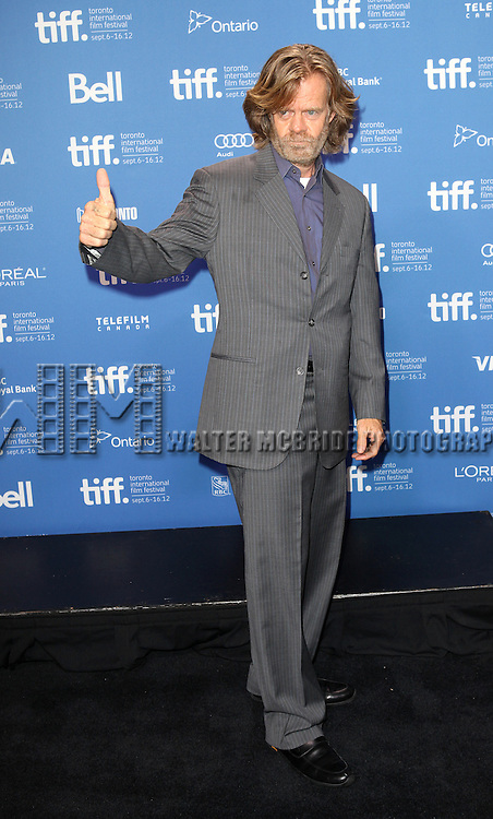 William H. Macy attending the The 2012 Toronto International Film Festival.Photo Call for 'The Sessions' at the TIFF Bell Lightbox in Toronto on 9/9/2012