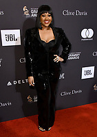 09 February 2019 - Beverly Hills, California - Jazmine Sullivan. The Recording Academy And Clive Davis' 2019 Pre-GRAMMY Gala held at the Beverly Hilton Hotel.   <br /> CAP/ADM/BT<br /> &copy;BT/ADM/Capital Pictures