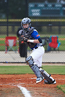 Ryan Miller (7) of Ponte Vedra, Florida during the Baseball Factory All-America Pre-Season Rookie Tournament, powered by Under Armour, on January 13, 2018 at Lake Myrtle Sports Complex in Auburndale, Florida.  (Michael Johnson/Four Seam Images)