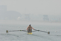 Beijing, CHINA, AUS JM1X, Taylor WILCZYSKI, during the  2007. FISA Junior World Rowing Championships Shunyi Water Sports Complex. Wed. 08.08.2007  [Photo, Peter Spurrier/Intersport-images]..... , Rowing Course, Shun Yi Water Complex, Beijing, CHINA,