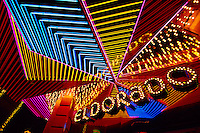 Neon, Eldorado Hotel and Casino, Downtown, Reno, Nevada USA