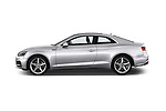 Car driver side profile view of a 2018 Audi A5  Premium 2 Door Coupe