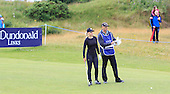 Paige Spiranac during the final round  of the 2016 Aberdeen Asset Management Ladies Scottish Open played at Dundonald Links Ayrshire from 22nd to 24th July 2016:  Picture Stuart Adams, www.golftourimages.com: 22/07/2016
