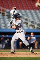 Trenton Thunder first baseman Tyler Austin (17) at bat during the first game of a doubleheader against the Hartford Yard Goats on June 1, 2016 at Sen. Thomas J. Dodd Memorial Stadium in Norwich, Connecticut.  Trenton defeated Hartford 4-2.  (Mike Janes/Four Seam Images)