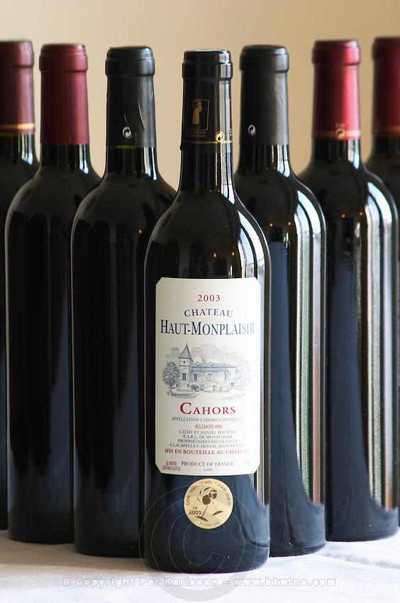 Chateau Haut Monplaisir Cathy and Daniel Fournie Cahors Lot Valley France
