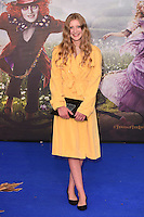 Poppy Lee Friar at the premiere of &quot;Alice Through the Looking Glass&quot; at the Odeon Leicester Square, London.<br /> May 10, 2016  London, UK<br /> Picture: Steve Vas / Featureflash