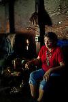 Winnemem tribal leader Caleen Sisk in their tribal prayer house in Jones Valley, Calif., May 16, 2012..CREDIT: Max Whittaker/Prime for The Wall Street Journal.CEREMONY.