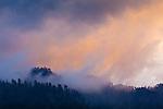 Sunset at Mortons Overlook, Great Smoky Mountains National Park, TN, USA