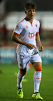 Blackpool's Max Clayton<br /> <br /> Photographer Alex Dodd/CameraSport<br /> <br /> EFL Checkatrade Trophy - Northern Section Group B - Accrington Stanley v Blackpool - Tuesday 3rd October 2017 - Crown Ground - Accrington<br />  <br /> World Copyright &copy; 2018 CameraSport. All rights reserved. 43 Linden Ave. Countesthorpe. Leicester. England. LE8 5PG - Tel: +44 (0) 116 277 4147 - admin@camerasport.com - www.camerasport.com