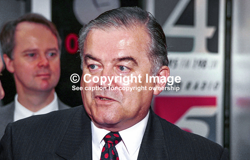 Richard Balfe, MEP, Labour Party, Britain, UK, 1996, Annual Conference, 199610158.<br />