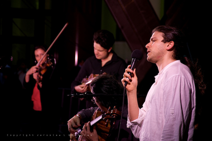 ART & ABOUT, a 10th birthday party. FourPlay String Quartet, Martin Place 23.09.11