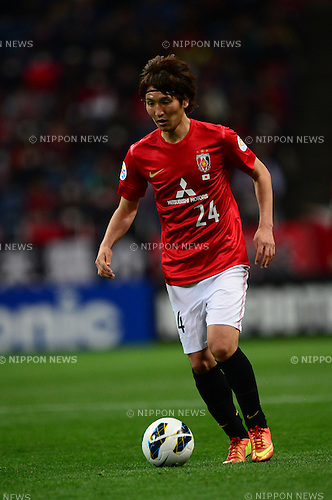 Genki Haraguchi (Reds),.MARCH 12, 2013 - Football / Soccer :.AFC Champions League Group F match between Urawa Red Diamonds 4-1 Muangthong United at Saitama Stadium 2002 in Saitama, Japan. (Photo by AFLO)