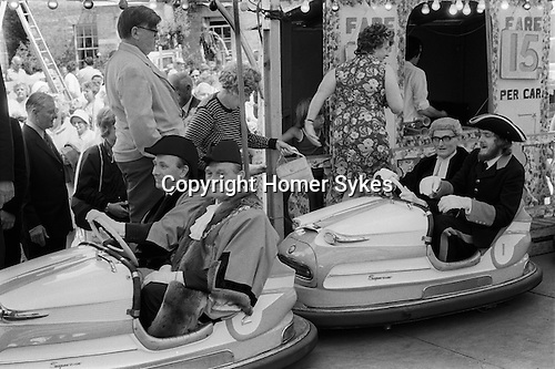 Southwold Trinity Fair, Southwold, Suffolk, England 1973. The Opening of the Charter Fair.<br /> <br /> My ref 19/563/1973