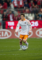 07 May 2011: Houston Dynamo defender Bobby Boswell #32 in action during an MLS game between the Houston Dynamo and the Toronto FC at BMO Field in Toronto, Ontario..Toronto FC won 2-1.