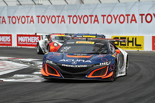 2017 Pirelli World Challenge<br /> Toyota Grand Prix of Long Beach<br /> Streets of Long Beach, CA USA<br /> Sunday 9 April 2017<br /> Peter Kox<br /> World Copyright: Richard Dole/LAT Images<br /> ref: Digital Image RD_LB17_540
