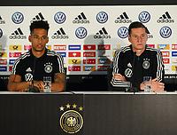 Thilo Kehrer (Deutschland Germany), Julian Draxler (Deutschland, Germany) - 06.06.2019: Pressekonferenz der Deutschen Nationalmannschaft zur EM-Qualifikation in Venlo/NL
