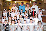 Students from Castleisland Gaelscoil who received their First Holy Communion in St Stephen's and John's church Castleisland on Saturday            Copyright Kerry's Eye 2008