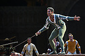London, UK. 10.06.2014. Tamara Rojo and Carlos Acosta, from English National Ballet, in dress rehearsal for ROMEO AND JULIET, in the round, in the Royal Albert Hall. Picture shows: Yonah Acosta (Mercutio). Photograph © jane Hobson.