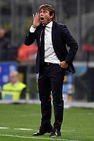 Antonio Conte coach of FC Internazionale <br /> Milano 6-10-2019 Stadio Giuseppe Meazza <br /> Football Serie A 2019/2020 <br /> FC Internazionale - Juventus FC <br /> Photo Andrea Staccioli / Insidefoto