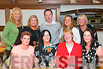 CELEBRATE: 2nd year students from the Health Care Support course at Tralee IT dining out in La Scala, Tralee on Saturday night to celebrate the end of their exams, seated l-r: Mary Ellen Fitzgerald, Sharon Browne, Annette Nolan with Linda Dennehy. Back l-r: Christina Murphy Curtin, Marie Flynn, Dermot O'Sullivan, Sian Clinton and Margaret Kenny.