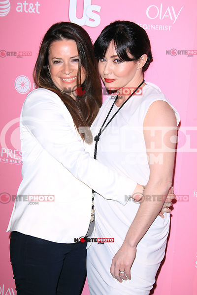 Holly Marie Combs and Shannen Doherty at Us Weekly's Hot Hollywood Style Event at Greystone Manor Supperclub on April 18, 2012 in West Hollywood, California. © mpi28/MediaPunch Inc.