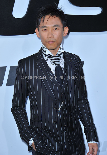 WWW.ACEPIXS.COM<br /> <br /> April 1 2015, LA<br /> <br /> James Wan arriving at Universal Pictures Premiere of 'Furious 7'' at the TLC Chinese Theatre, Hollywood, on April 1, 2015 in Los Angeles.CA <br /> <br /> By Line: Peter West/ACE Pictures<br /> <br /> <br /> ACE Pictures, Inc.<br /> tel: 646 769 0430<br /> Email: info@acepixs.com<br /> www.acepixs.com