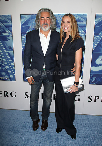 HOLLYWOOD, CA - SEPTEMBER 26: Mitch Glazer, Kelly Lynch, at HBO'S DOCUMNETARY FILMS SPIELBERG LA PREMIERE at Paramount Studios on September 26, 2017 in Los Angeles, California. Credit: Faye Sadou/MediaPunch