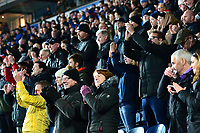 Blackburn Rovers fans applaud<br /> <br /> Photographer Richard Martin-Roberts/CameraSport<br /> <br /> The EFL Sky Bet Championship - Blackburn Rovers v West Bromwich Albion - Tuesday 1st January 2019 - Ewood Park - Blackburn<br /> <br /> World Copyright &not;&copy; 2019 CameraSport. All rights reserved. 43 Linden Ave. Countesthorpe. Leicester. England. LE8 5PG - Tel: +44 (0) 116 277 4147 - admin@camerasport.com - www.camerasport.com