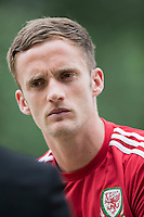Andy King during a Wales media day ahead of the final pre Euro 2016 friendly match against Sweden, Vale Resort, Hensol, Wales on 1 June 2016. Photo by Mark  Hawkins / PRiME Media Images / PRiME Media Images.