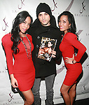 To-Tam Sachika, Model Eddy Bogaert and To-Nya SachikaAttend JONES MAGAZINE PRESENTS SACHIKA TWINS BDAY BASH at SL, NY 12/12/11