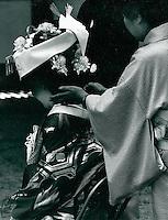 shintoistische Hochzeit in Japan