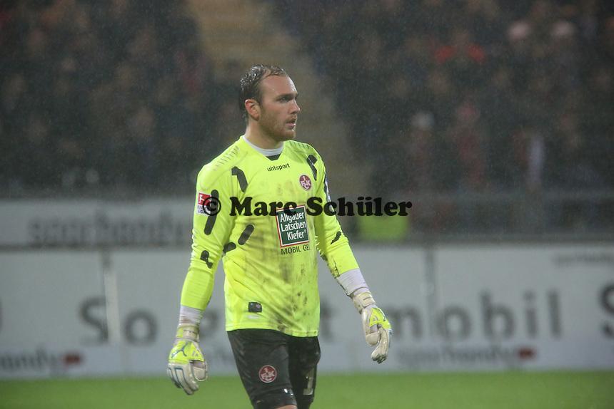 Tobias Sippel (FCK) - FSV Frankfurt vs. 1. FC Kaiserslautern, Frankfurter Volksbank Stadion
