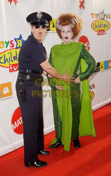 JAMIE LEE CURTIS & MARLEE MATLIN.attend the Annual Dream Halloween hosted by Children Affected by AIDS Foundation held at Barker Hangar. .full length, full-length, fancy dress costume.www.capitalpictures.com.sales@capitalpictures.com.©Capital Pictures.