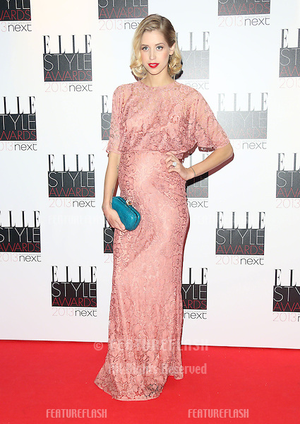 Peaches Geldof at the Elle Style Awards 2013, at The Savoy, London. 11/02/2013 Henry Harris / Featureflash