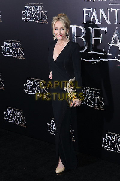 NEW YORK, NY - NOVEMBER 10: J. K. Rowling at the World Premiere of Fantastic Beasts and Where to Find Them at Alice Tully Hall on November 10, 2016 in New York City.   <br /> CAP/MPI/DIE<br /> &copy;DIE/MPI/Capital Pictures