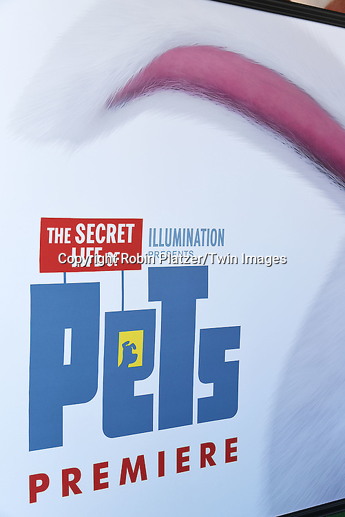 The Poster attends the New York Premiere of &quot;The Secret Life of Pets&quot; on June 25, 2016 at David H Koch Theater at Lincoln Center in New York, New York, USA. <br /> <br /> photo by Robin Platzer/Twin Images<br />  <br /> phone number 212-935-0770