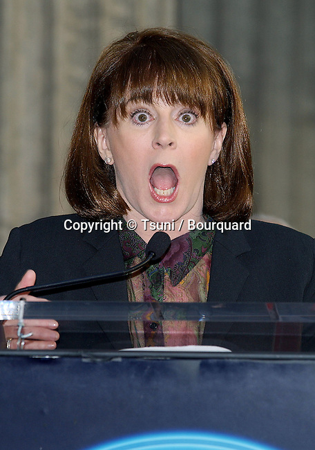 """Patricia Richardson at the """"Tim Allen """" 2270th star on the Hollywood Walk of Fame in Los Angeles. November 19, 2004."""