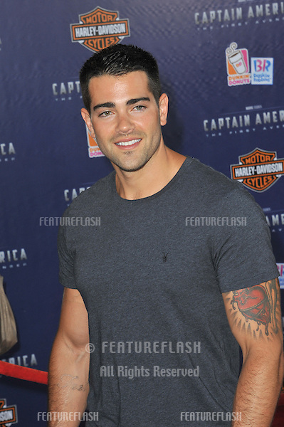 "Jesse Metcalf at the premiere of ""Captain America: The First Avenger"" at the El Capitan Theatre, Hollywood..July 19, 2011  Los Angeles, CA.Picture: Paul Smith / Featureflash"