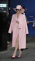 NEW YORK, NY- OCTOBER 21: Lady Gaga at Good Morning America to talk about her new CD Joanne in New York City on October 21, 2016. Credit: RW/MediaPunch