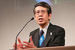 Teruyuki Ono, MARCH 7, 2013 : Teruyuki Ono, Director General Bureau of Environment Tokyo Metropolitan Government  attends a Media briefing about presentations of Tokyo 2020 bid Committee in Tokyo, Japan. (Photo by Yusuke Nakanishi/AFLO SPORT).