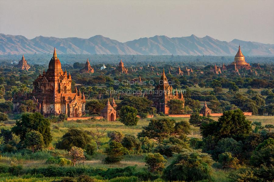 Myanmar, Burma  Bagan  Buddhist temple  | Cecil Images