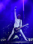 The Darkness performing their first album 'Permission To Land'  on the 10th anniversary of it's release in the Olympia Theatre Dublin. Photo:Colin Bell/pressphotos.ie