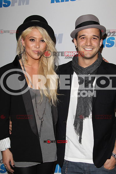 LOS ANGELES, CA - DECEMBER 03: BC Jean and Mark Ballas at day 2 of KIIS FM's 2012 Jingle Ball at Nokia Theatre L.A. Live on December 3, 2012 in Los Angeles, California. Credit: mpi21/MediaPunch inc. /NortePhoto ©/NortePhoto /NortePhoto© /NortePhoto /NortePhoto