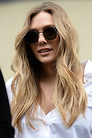www.acepixs.com<br /> August 2, 2017 New York City<br /> <br /> Elizabeth Olsen leaves AOL Build on August 2, 2017 in New York City.<br /> <br /> Credit: Kristin Callahan/ACE Pictures<br /> <br /> <br /> Tel: (646) 769 0430<br /> e-mail: info@acepixs.com