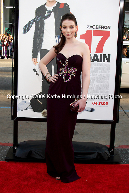 Michelle Trachtenberg  arriving at the 17 Again Premiere at Grauman's Chinese Theater in Los Angeles, CA on April 14, 2009.©2009 Kathy Hutchins / Hutchins Photo....                .