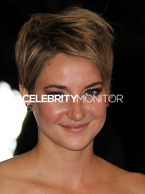 "NEW YORK CITY, NY, USA - MAY 05: Shailene Woodley at the ""Charles James: Beyond Fashion"" Costume Institute Gala held at the Metropolitan Museum of Art on May 5, 2014 in New York City, New York, United States. (Photo by Xavier Collin/Celebrity Monitor)"