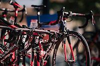 at the race start in Carcasonne<br /> <br /> Stage 16: Carcassonne > Bagnères-de-Luchon (218km)<br /> <br /> 105th Tour de France 2018<br /> ©kramon