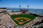 Sports: Baseball, San Francisco, CA baseball park, SBC Park; SF Giants; Pacific Bell Park.Photo Copyright: Lee Foster, lee@fostertravel.com, www.fostertravel.com,  (510) 549-2202.Image sports202