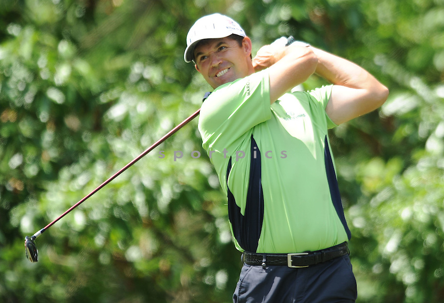 PADRAIG HARRINGTON,during a practice round of the Quail Hollow Championship, on April 29, 2009 in Charlotte, NC.