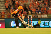 8th January 2018, The WACA, Perth, Australia; Australian Big Bash Cricket, Perth Scorchers versus Melbourne Renegades; Ashton Turner of the Perth Scorchers plays a ramp shot during his innings of 70